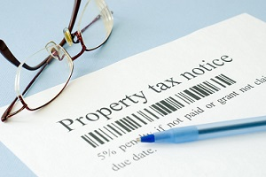 notice of property taxes due