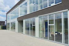 an office building for lease
