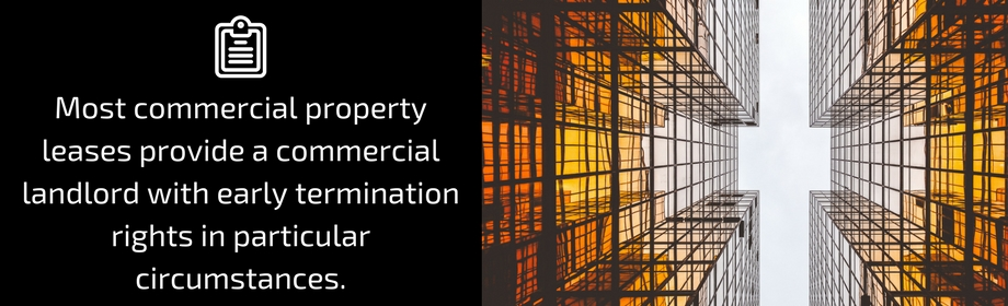 Considerations Before Terminating A Commercial Lease